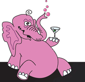 pink elephant cartoon2 (1) Titus Vineyards Update